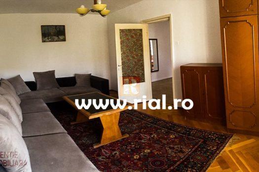 Apartament 2 camere de inchiriat mobilat si utilat in Medias.
