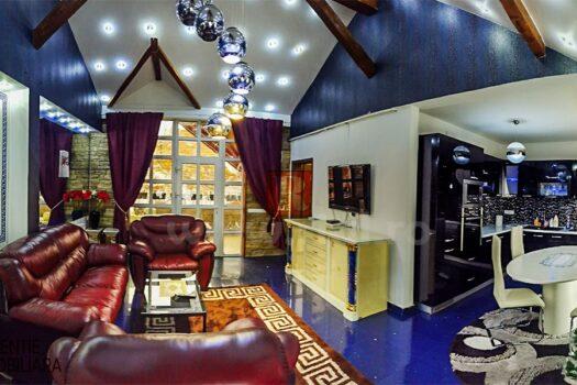 Apartament 3 camere mobilat si utilat de vanzare in Medias